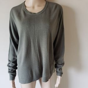 NWT! EXPRESS STEP HEM CREW NECK TUNIC SWEATER